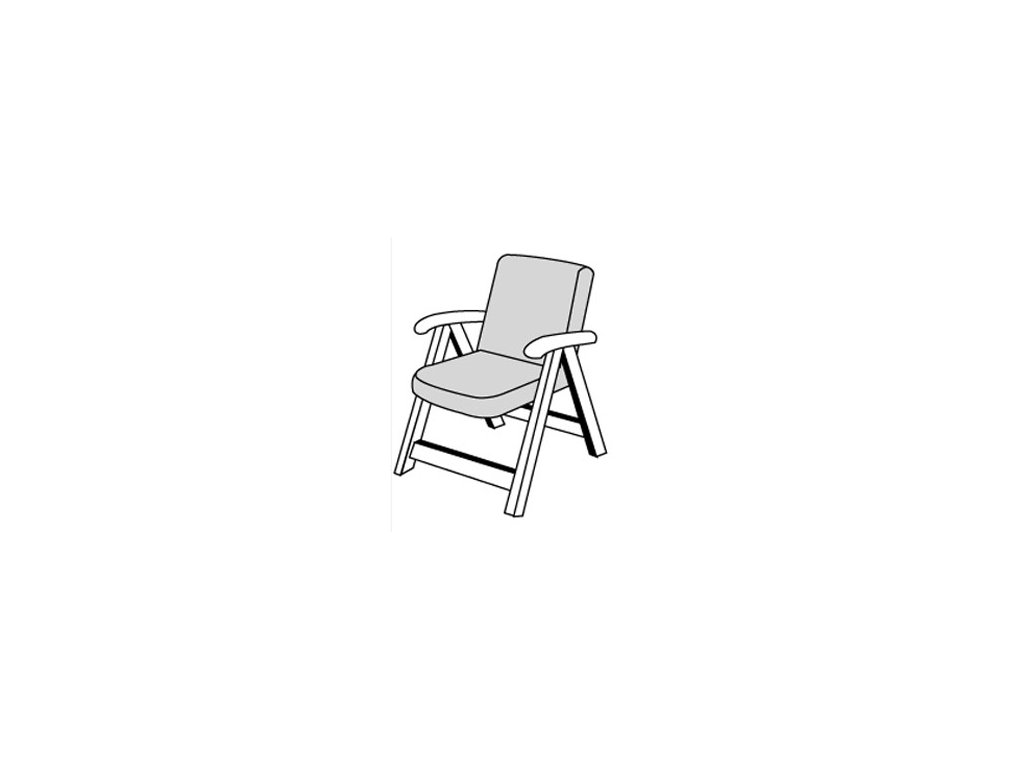 EXPERT 2427 - nízka poduška na stoličku a kreslo