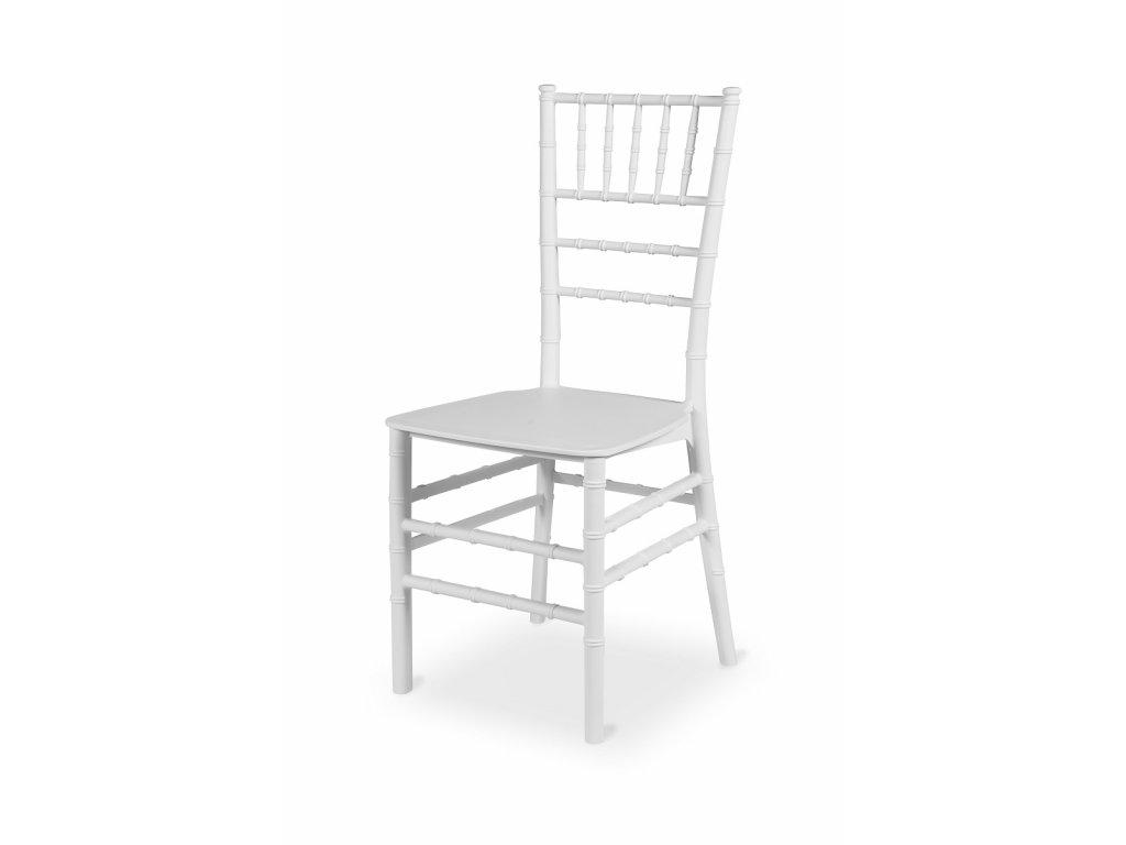 CHIAVARI PLASTIK white