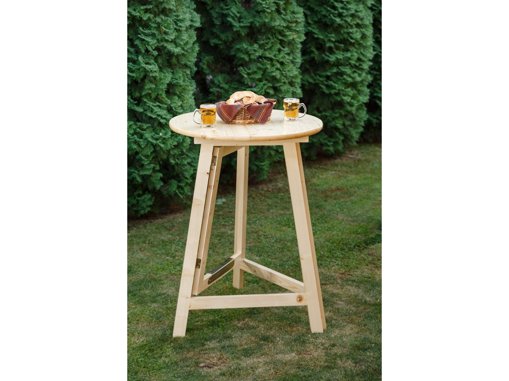 dreveny party stol 80cm