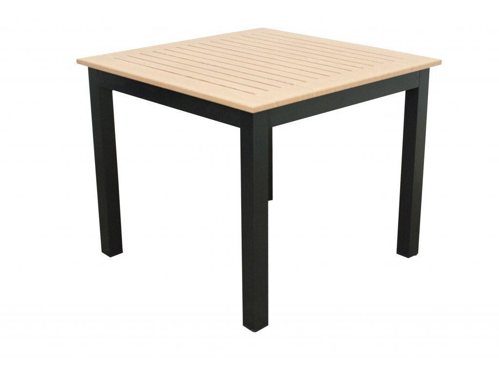 EXPERT WOOD antracit - gastro hliníkový stôl 90 x 90 x 75cm