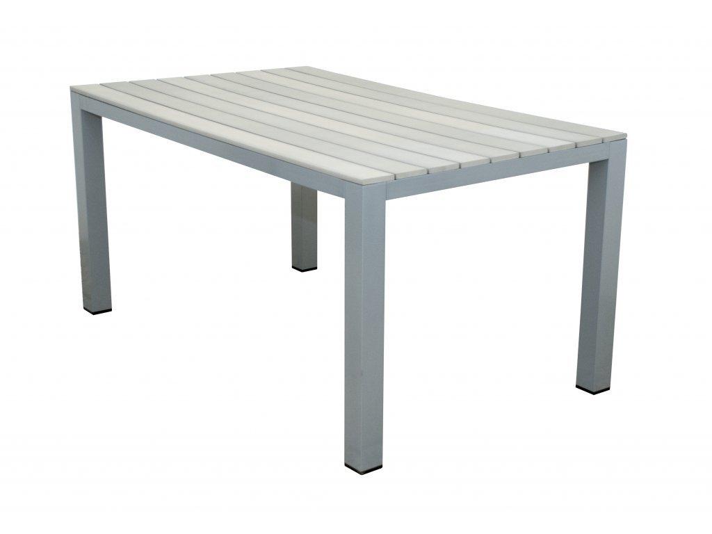 GENUA - hliníkový stôl 150 x 90 x 74 cm