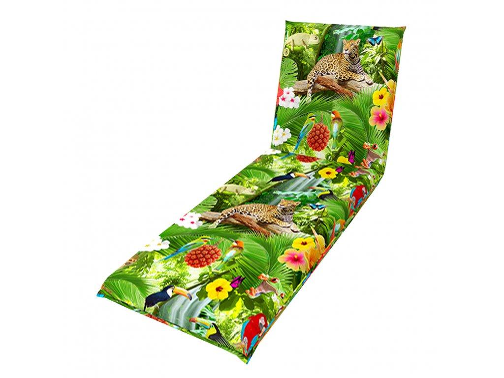 LIVING DE LUXE 6000 - poduška na záhradné lehátko