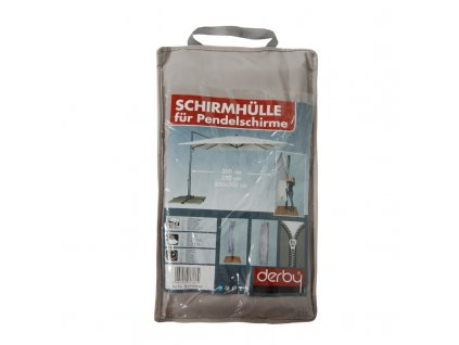 Ochranný obal pre výkyvné slnečníky až do 350 cm šedý