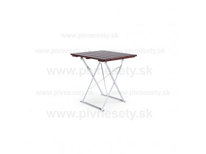 Skladací stôl 70 x 70 cm