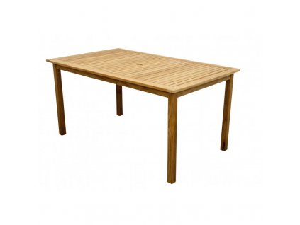 teak stol