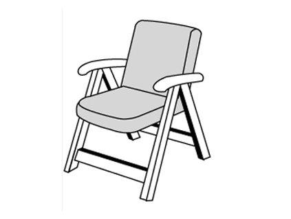 SPOT 1110 poduška na kreslo - nízka