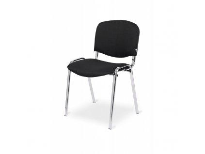 ISO Chrome frame black upholstery