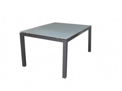 SALERNO - hliníkový stôl 90 x 90 x 74 cm