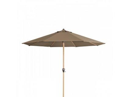 Alu Wood 350 cm – naklápací slnečník s kľukou