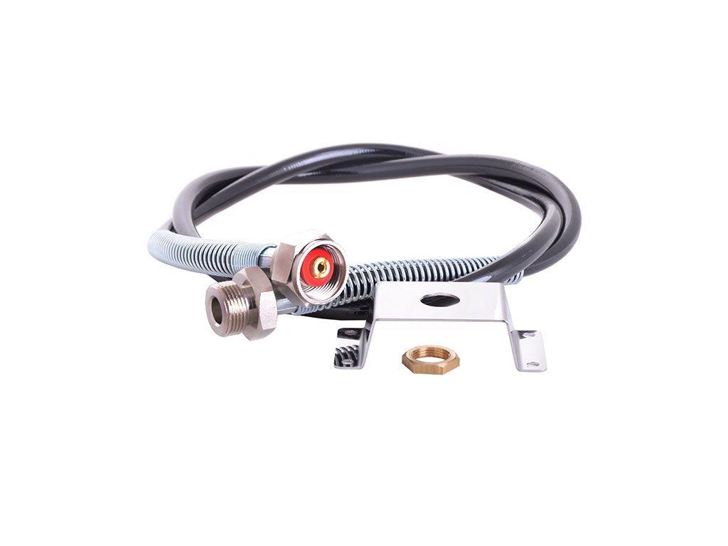 Držák redukčního ventilu s maticí + vysokotlak. hadice ...