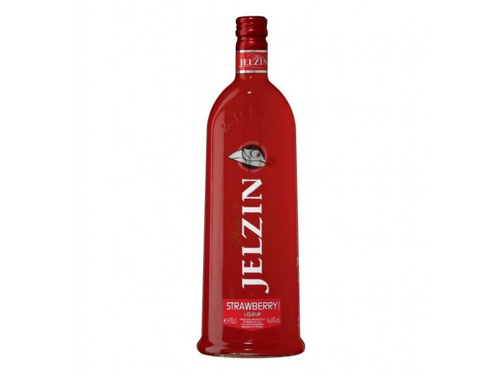 jelzin strawberry vodka 16 6 0 7 l