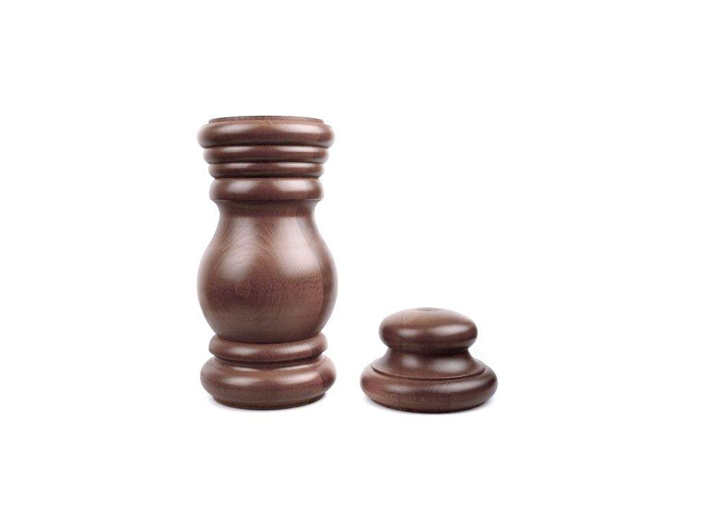 Stojan BAROKO dřevěný (hnědá ořech)