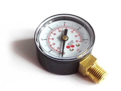Red. ventil - manometr, prac.tlak CO2,N2