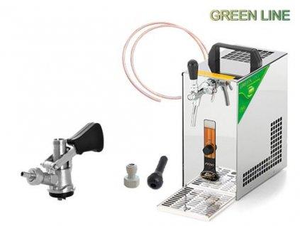 PYGMY 20 Green Line, bajonet, autoventil