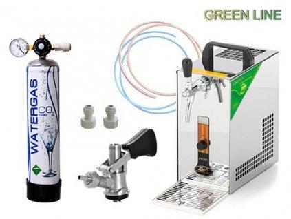 PYGMY 20 Green Line, bajonet, CO2 mini