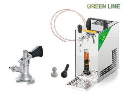 PYGMY 20 Green Line, plochý, autoventil