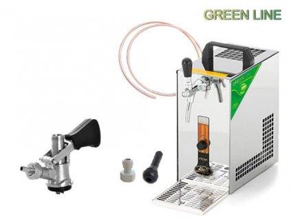 PYGMY 25 Green Line, bajonet, autoventil
