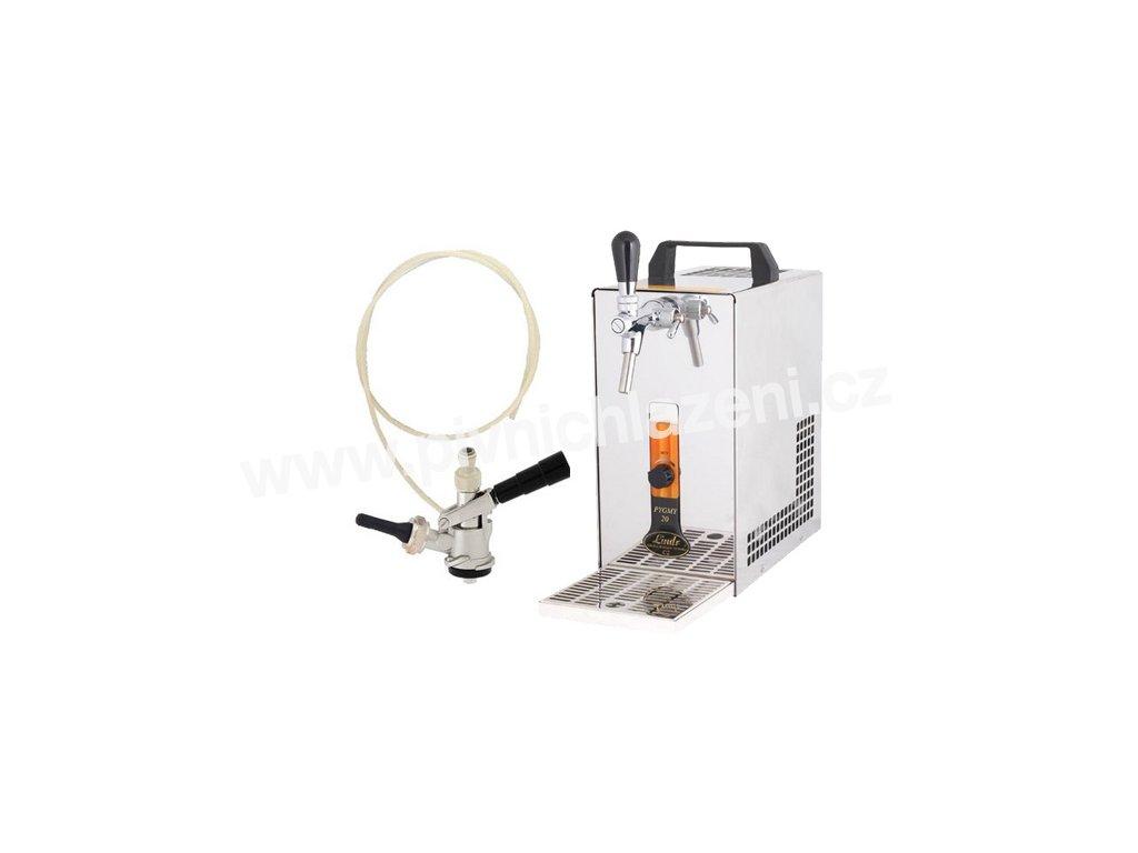 Pivní chlazení PYGMY 20 - komplet s autoventilkem BAJONET (bez kompresoru)
