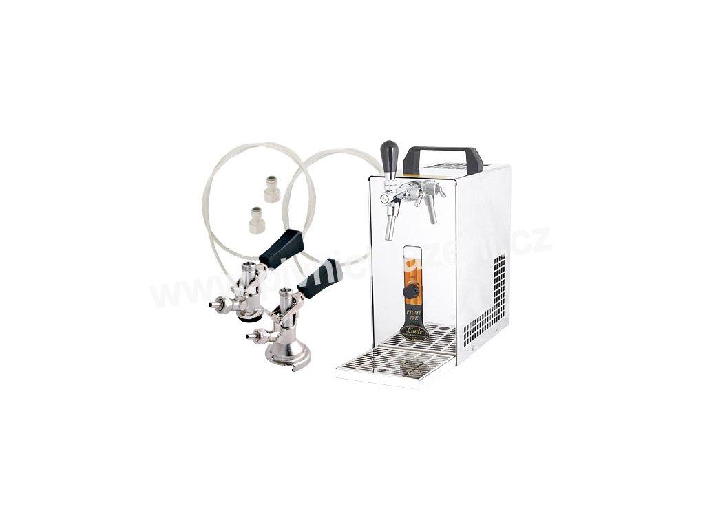 Výčepní zařízení PYGMY 20/K komplet 2 x naražeč  + Alkoholtester zdarma