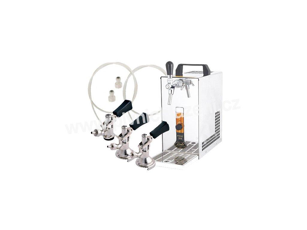 Výčepní zařízení PYGMY 20/K komplet 3 x naražeč  + Alkoholtester zdarma
