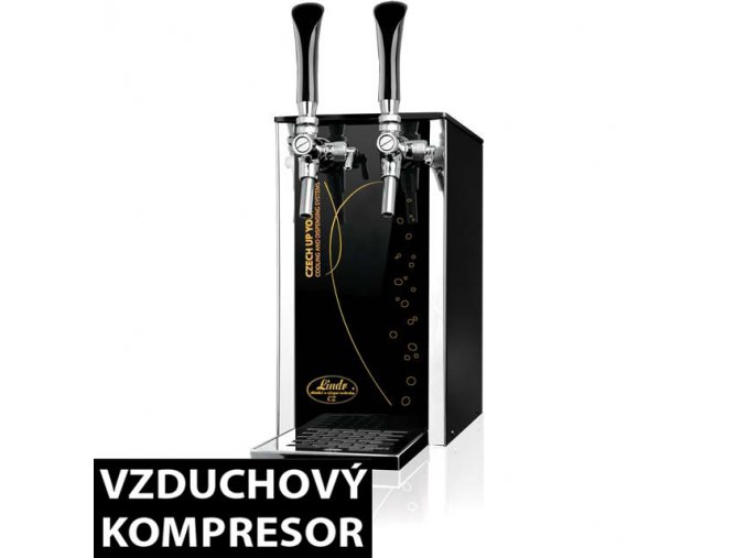 Výčepní zařízení PYGMY 25/K Exclusive 2xkohout  + Alkoholtester zdarma
