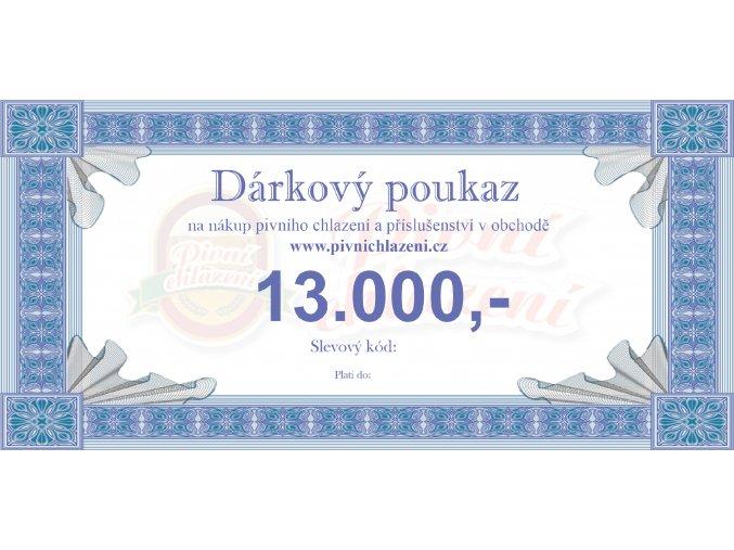 Dárkový poukaz 13.000,-