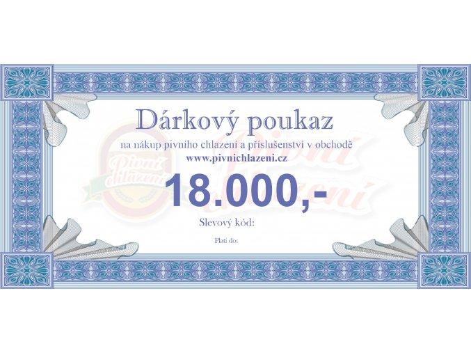 Dárkový poukaz 18.000,-
