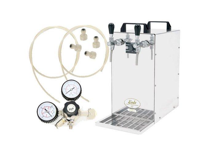 KONTAKT 70 s redukčním ventilem CO2 bez naražečů  + Alkoholtester zdarma