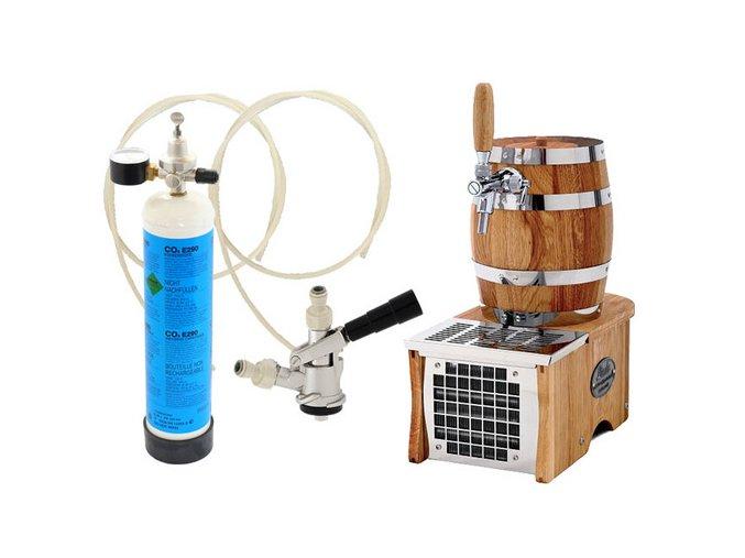 Luxusní pivní chlazení SOUDEK 20 Green Line - komplet bombička CO2 BAJONET  + Alkoholtester zdarma