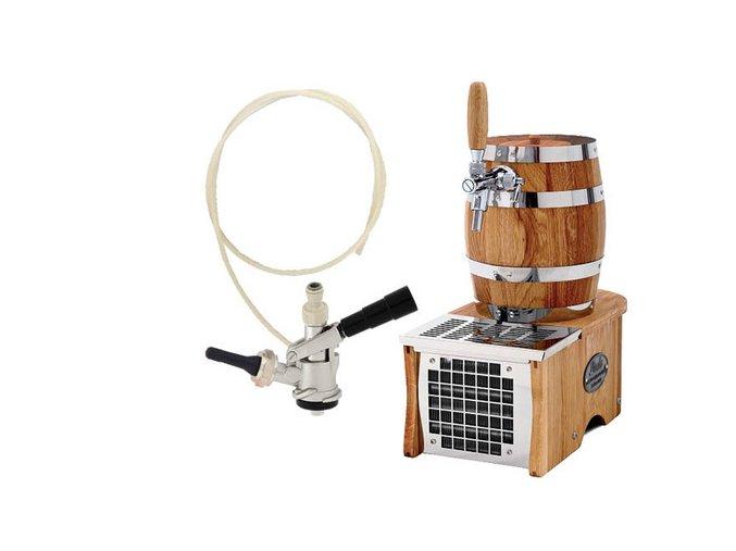 Luxusní pivní chlazení SOUDEK 1/8HP - komplet s autoventilkem BAJONET  + Alkoholtester zdarma