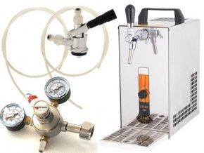 Pivní chlazení PYGMY 20 - komplet red. ventil CO2 BAJONET