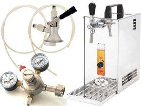 Pivní chlazení PYGMY 25 - komplet red. ventil CO2 KOMBI  + Alkoholtester zdarma