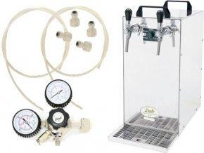 Výčepní zařízení KONTAKT 155 s redukčním ventilem CO2 bez naražečů  + Alkoholtester zdarma
