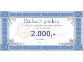 Dárkový poukaz 2.000,-