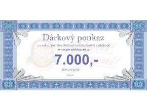Dárkový poukaz 7.000,-
