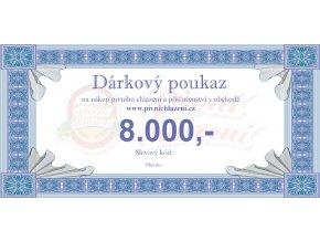 Dárkový poukaz 8.000,-