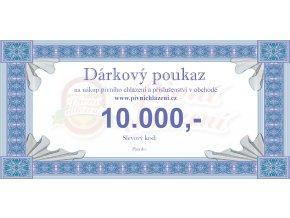 Dárkový poukaz 10.000,-