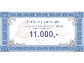 Dárkový poukaz 11.000,-