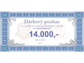 Dárkový poukaz 14.000,-