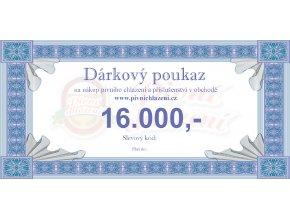 Dárkový poukaz 16.000,-