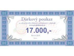 Dárkový poukaz 17.000,-