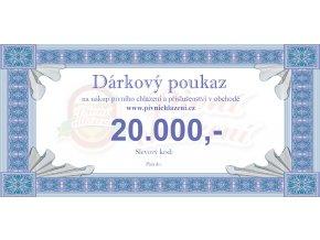 Dárkový poukaz 20.000,-