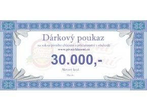 Dárkový poukaz 30.000,-