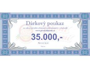 Dárkový poukaz 35.000,-