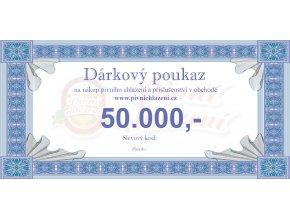 Dárkový poukaz 50.000,-
