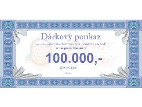 Dárkový poukaz 100.000,-