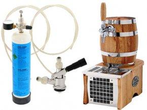 Luxusní pivní chlazení SOUDEK 1/8HP - komplet bombička CO2 BAJONET  + Alkoholtester zdarma