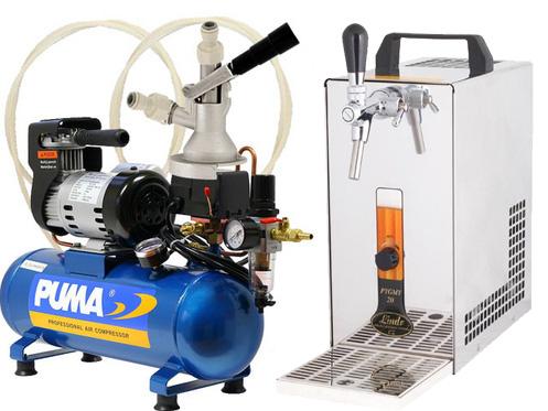 Pivní chlazení PYGMY 20 - komplet s kompresorem KOMBI