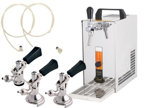 Výčepní zařízení PYGMY 25/K - komplet 3 x naražeč + Alkoholtester zdarma