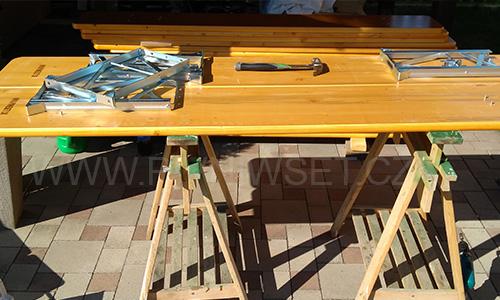 Návod inspirace výroba dřevěné lavice